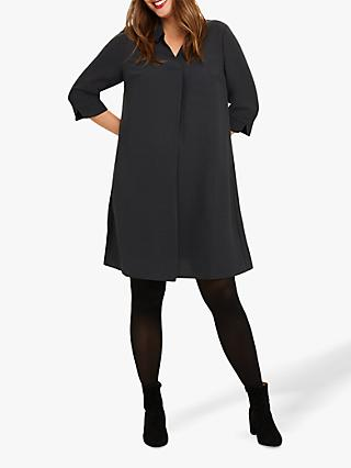 Studio 8 Bette Shirt Swing Dress, Charcoal