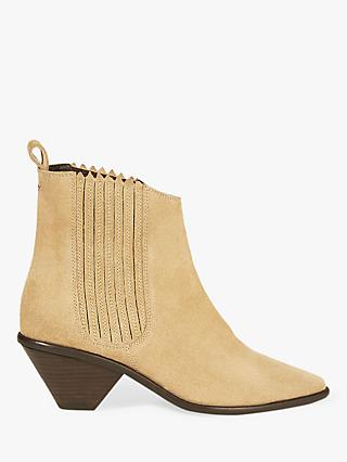76b8a2c84 Jigsaw Camila Suede Pointed Ankle Boots