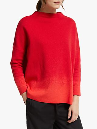 ARMEDANGELS Esraa Ombre Jumper, Cherry Red