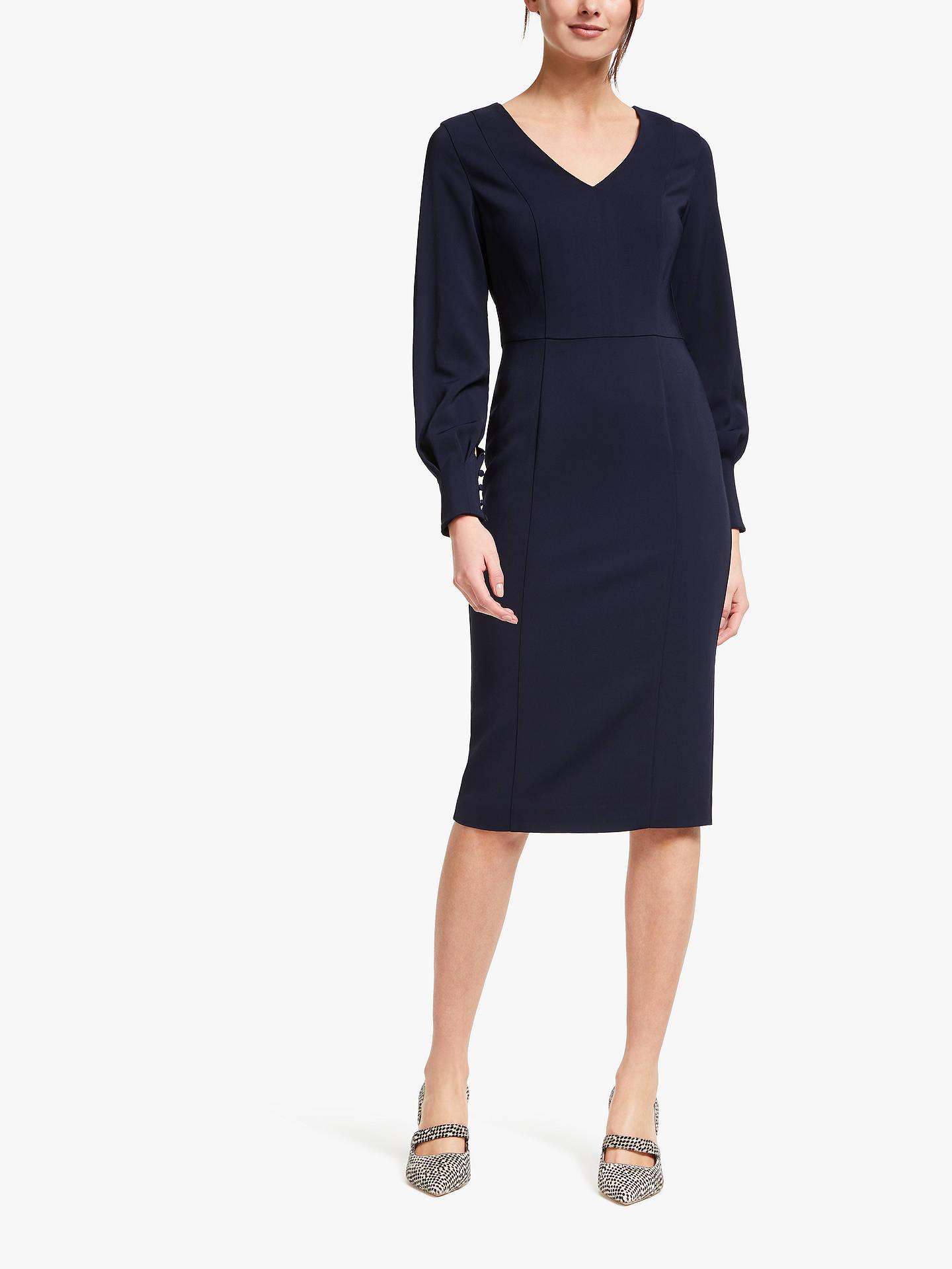 c745bda48e1 Buy Boden Hannah Dress, Navy, 8 Online at johnlewis.com ...