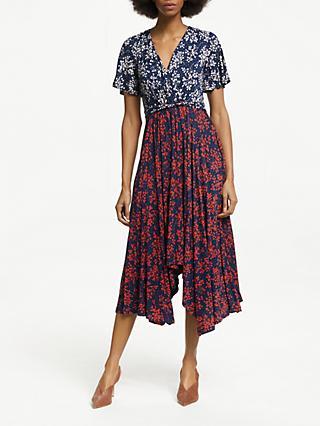 11a50a7799 Boden Heather Floral Midi Dress
