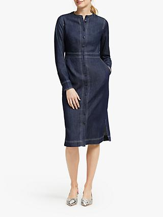 Boden Sara Denim Shirt Dress, Indigo