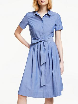 7d72d438ec Boden Anastasia Tie Waist Shirt Dress