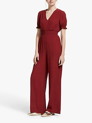 Boden Jasmine Jumpsuit, Red