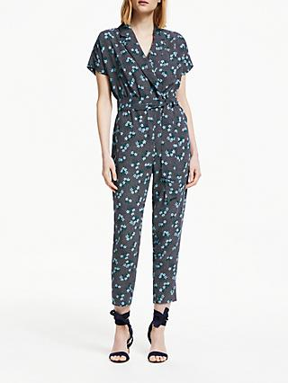 Boden Frederica Floral Print Jumpsuit