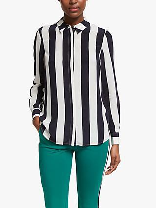 6820b3dbde756 Boden Stripe Print Silk Shirt