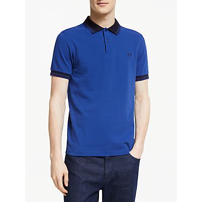 Fred Perry Bold Cuff Pique Polo Shirt