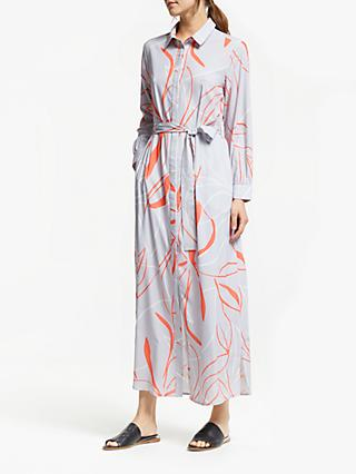 Great Plains Ava Abstract Dress, Misty Lilac