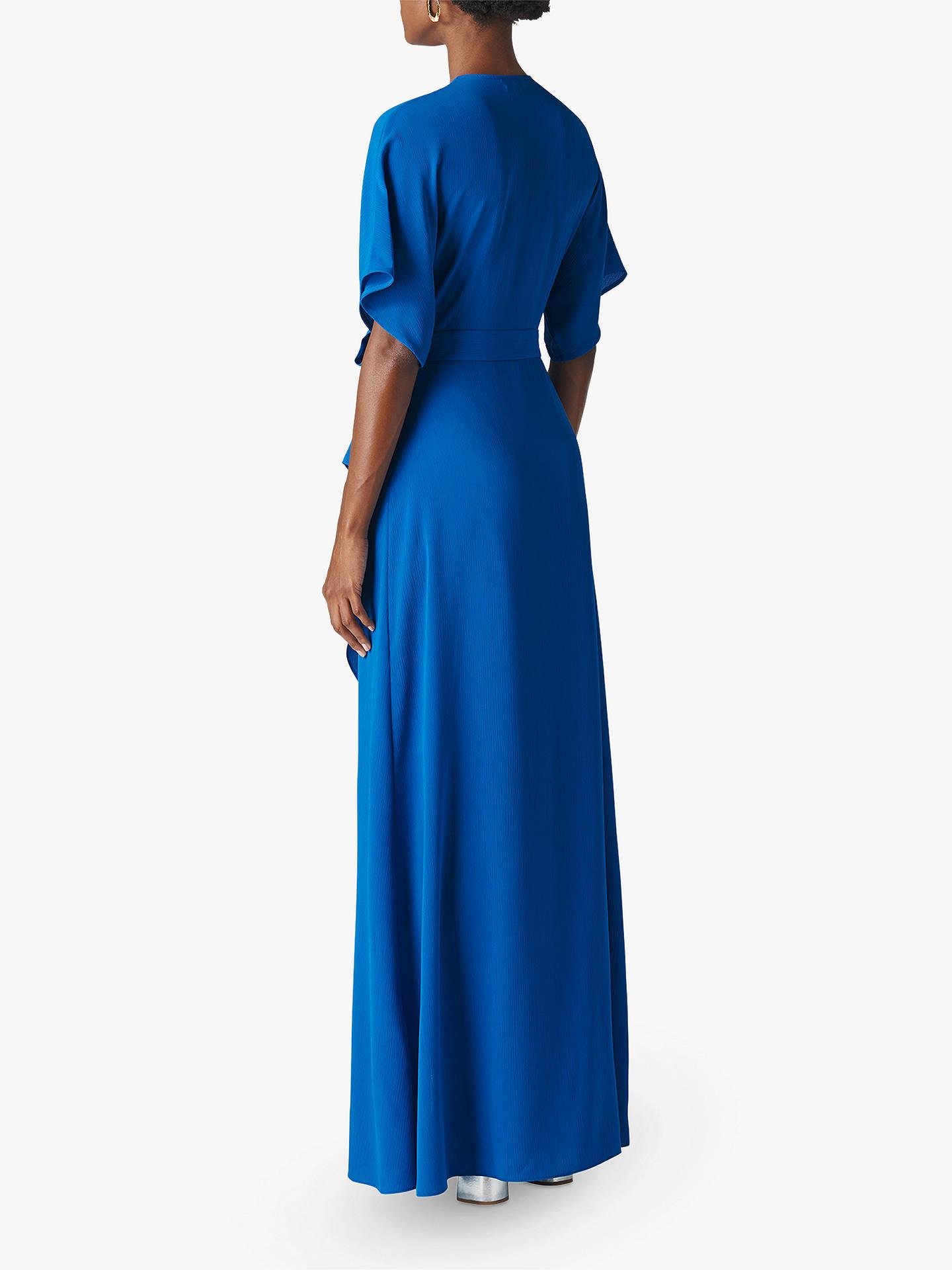 2df1892e195 Whistles Nova Frill Wrap Maxi Dress at John Lewis   Partners