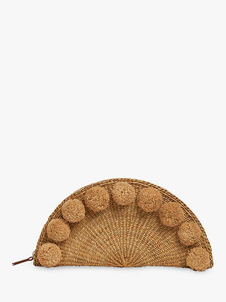 Buy Whistles Stanley Large Taco Straw Purse, Neutral Online at johnlewis.com