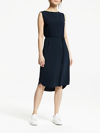 Great Plains Ice Jersey Dress, Navy