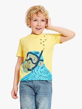 2d271710c John Lewis   Partners Boys  Monkey Print T-Shirt