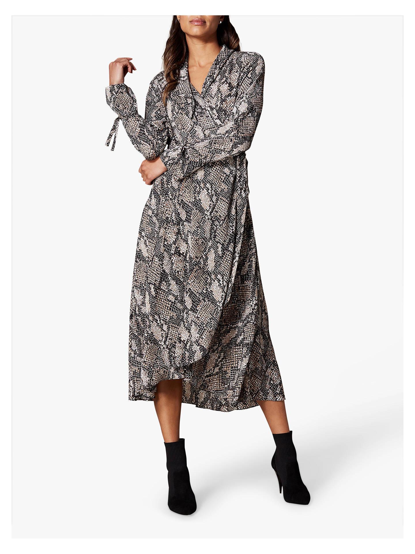 41fd05c81536 Buy Karen Millen Snakeskin Print Maxi Dress, Multi, 6 Online at  johnlewis.com ...