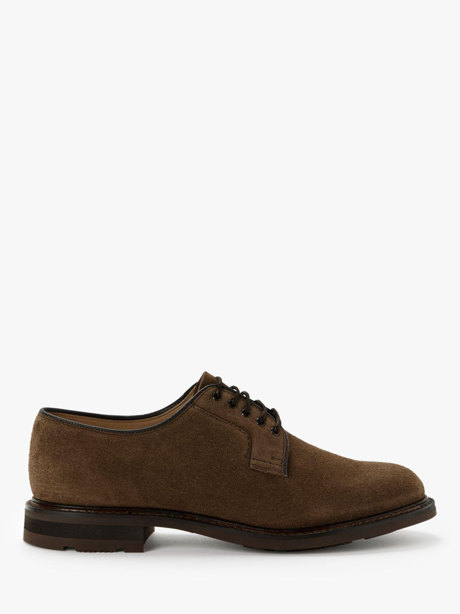 Church's Church's Bestone Suede Derby Shoes, Sigar