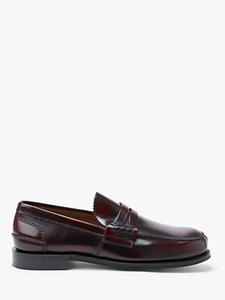 Church's Tunbridge Leather Loafers, Burgundy