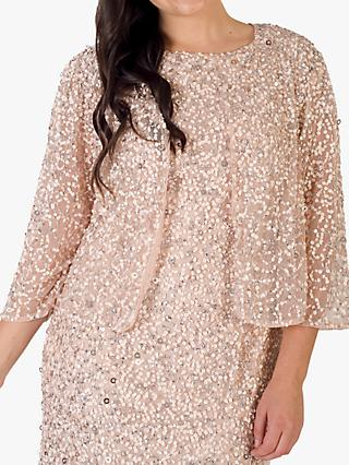 Chesca Sequin Mesh Jacket