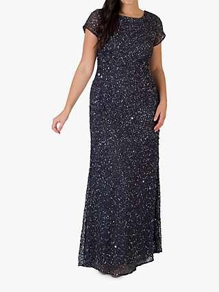 Chesca Allover Bead Dress