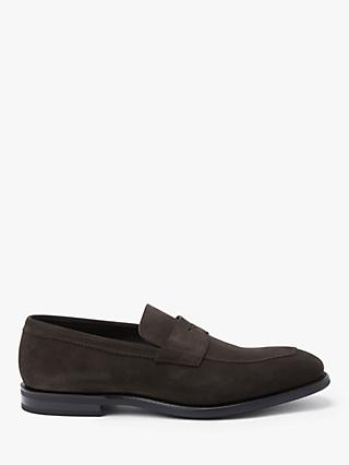 Church's Parham Suede Loafers, Ebony