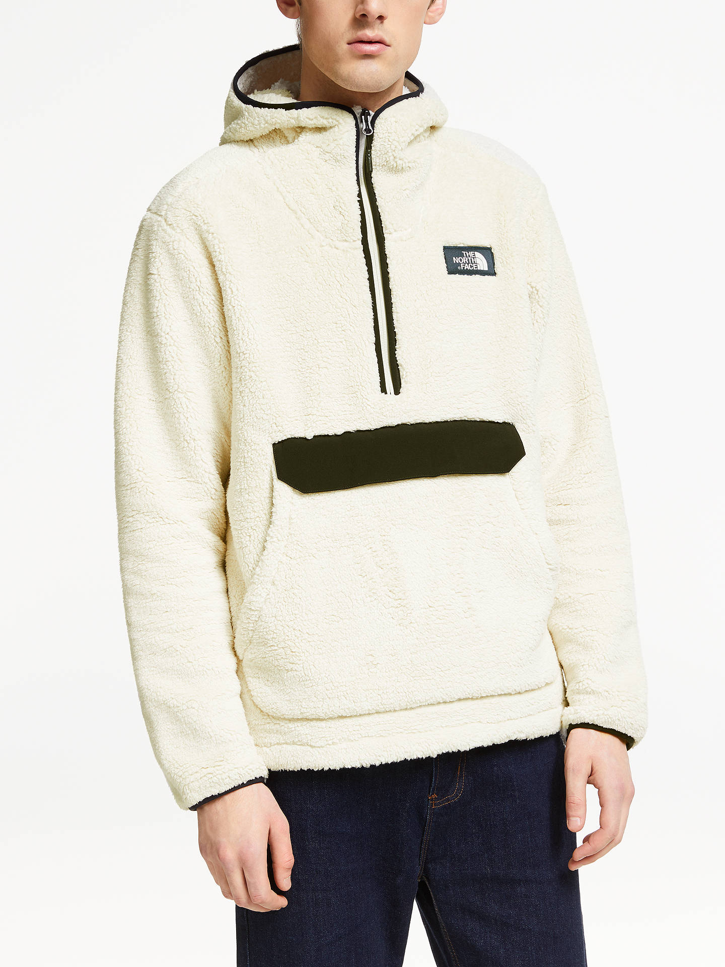 e131b50ee The North Face Campshire Pullover Hoodie, Vintage White/TNF Black at ...