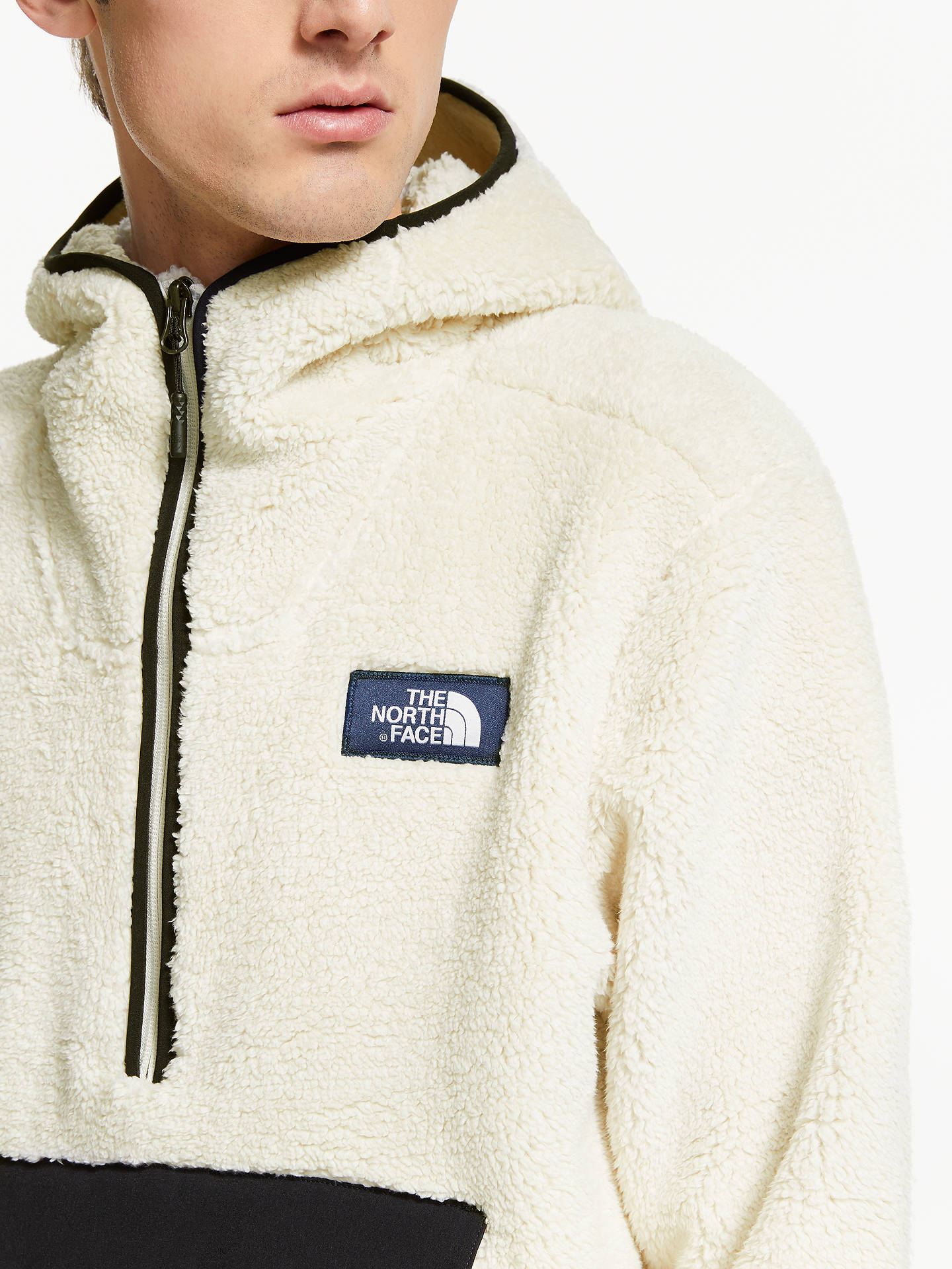 036f42a42 The North Face Campshire Pullover Hoodie, Vintage White/TNF Black at ...