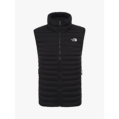The North Face Stretch Down Vest, Black