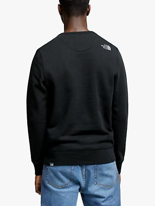 The North Face Drew Peak Crew Sweatshirt, Black