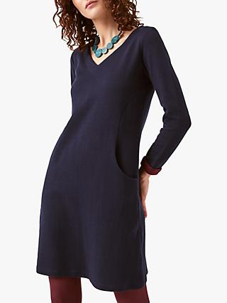 White Stuff Jayne Dress, Navy
