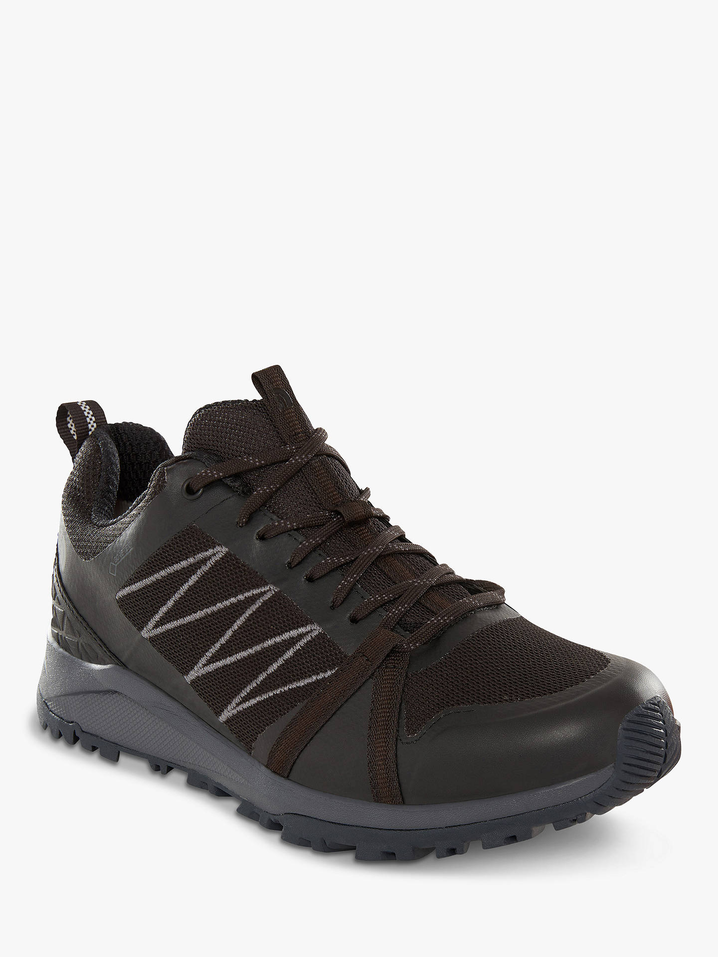 3803d54a5 The North Face Litewave Fastpack II GTX Women's Hiking Shoes, Black/Ebony  Grey