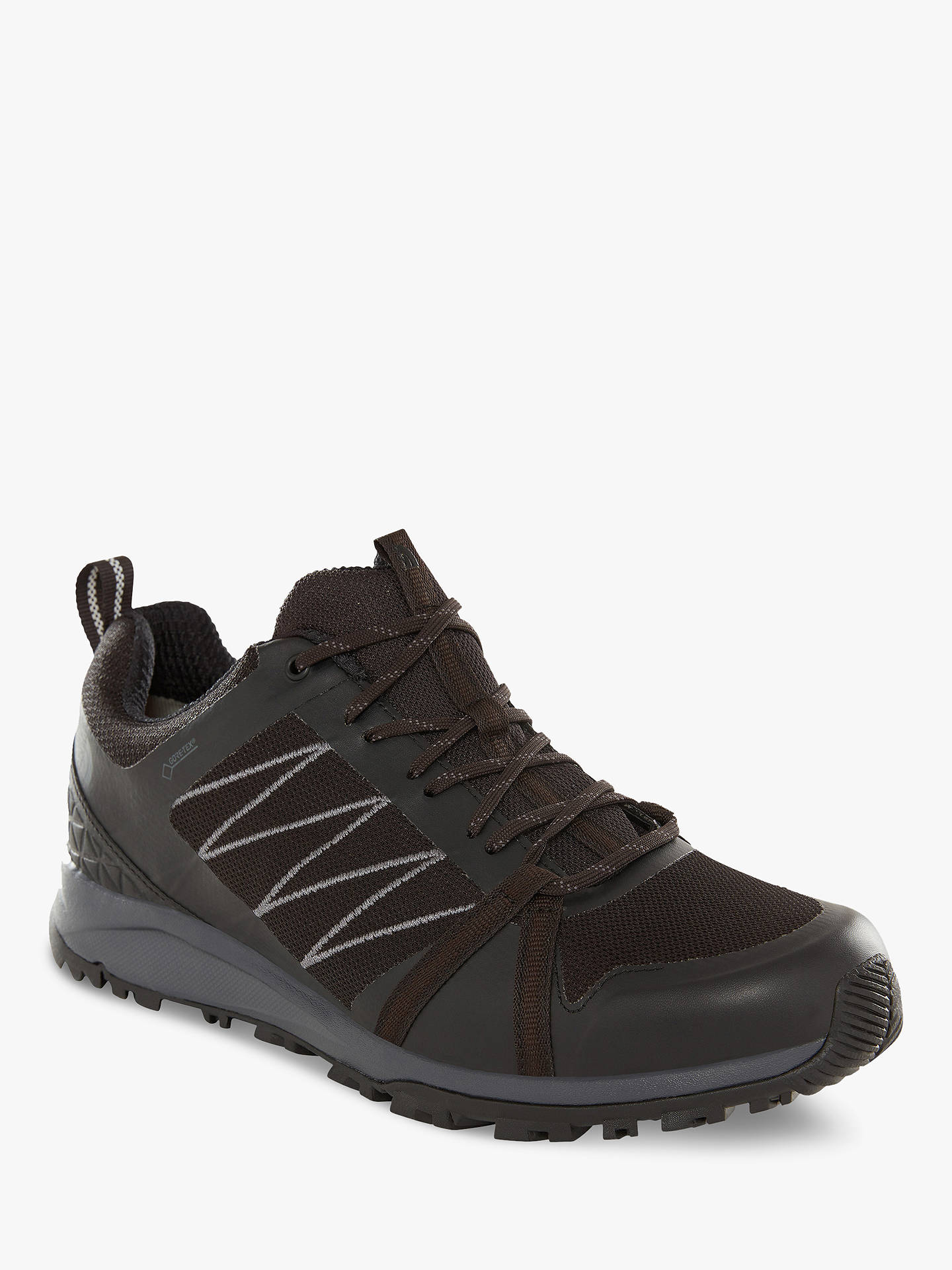 1e66cb156 The North Face Litewave Fastpack II GTX Men's Hiking Shoes, Black/Ebony Grey