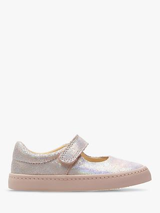 Clarks Children's City Gleam Shoes, Pink