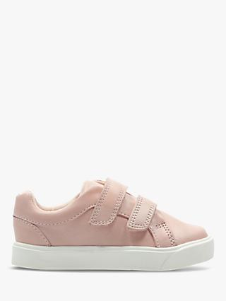 Clarks Junior City Oasis Shoes, Pink