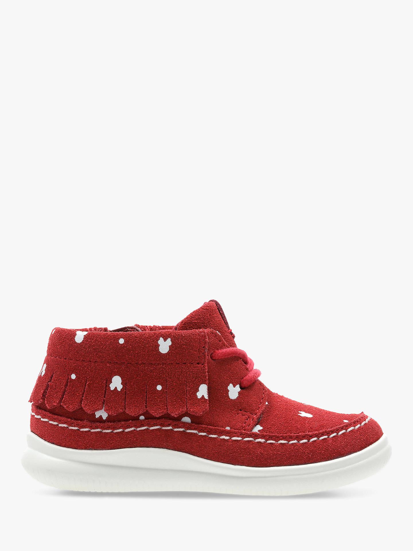 a4cc6cc0f90 Clarks Children's Cloud Polka Disney Minnie Mouse Shoes, Red