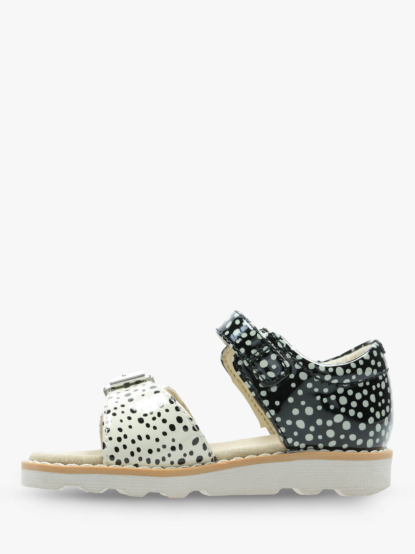 9ab977c32be8 ... Buy Clarks Children s Crown Bloom Spot Print Sandals