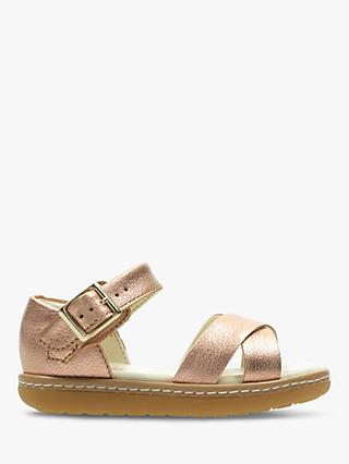 Clarks Children's Skylark Pure Sandals, Bronze
