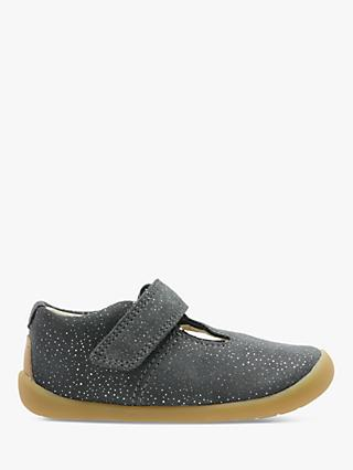 Clarks Children's Roamer Go Pre-Walker Suede Shoes