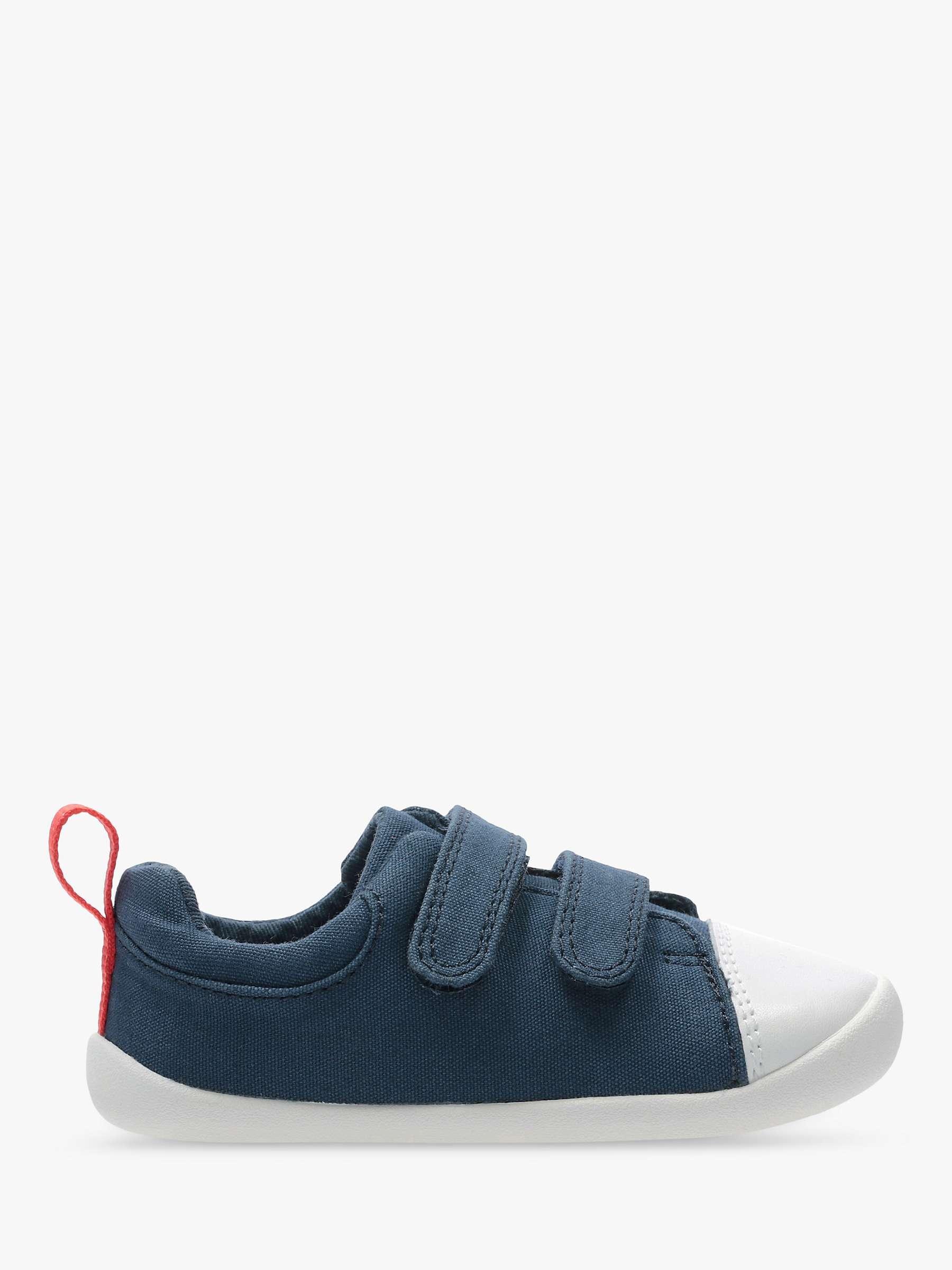 Losver Toddler Boys Canvas Sneakers Star Navy