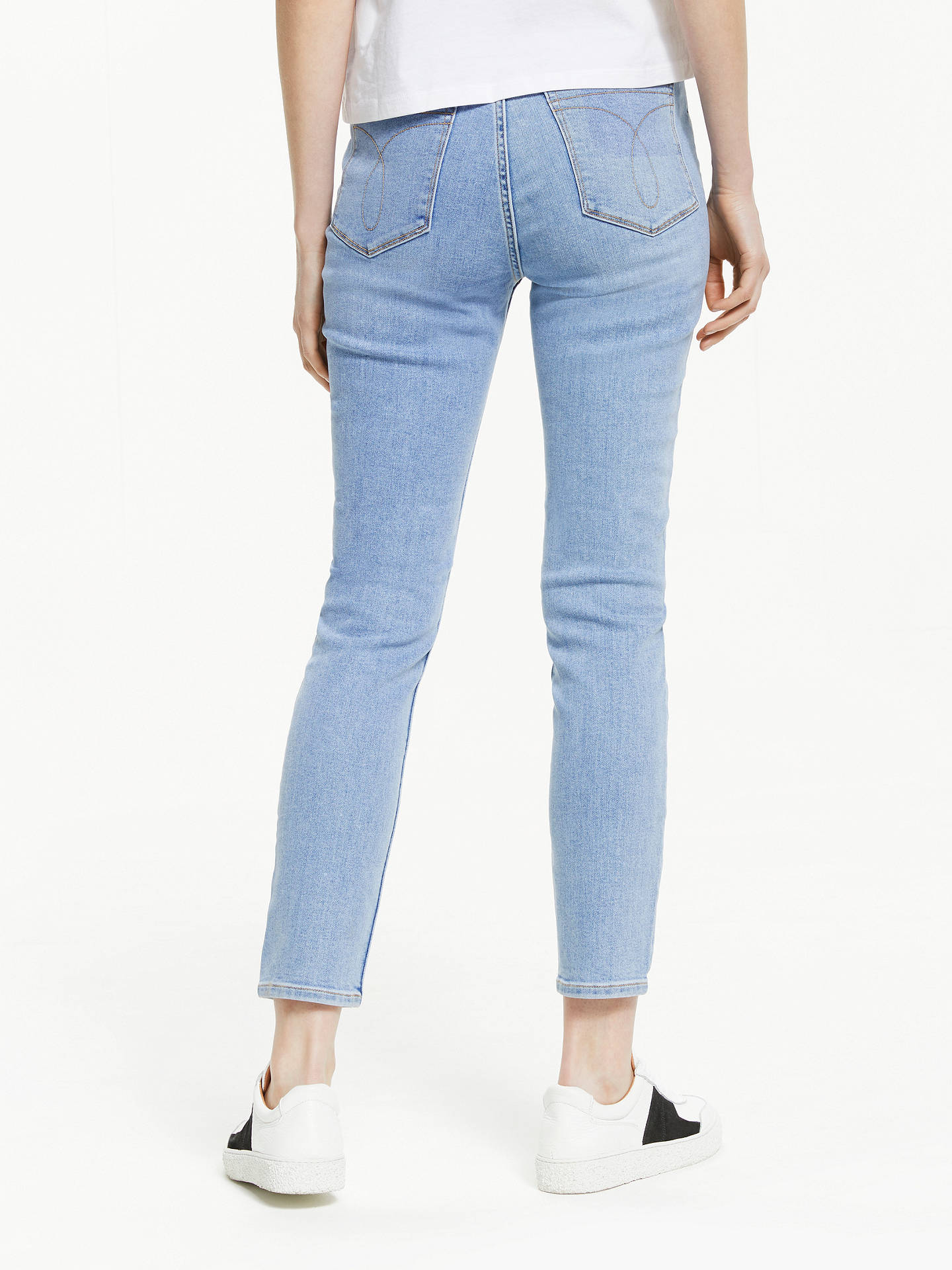 37660f2ca6124 ... Buy Calvin Klein High Rise Skinny Ankle Jeans, Iconic Stone, W27/L30  Online ...