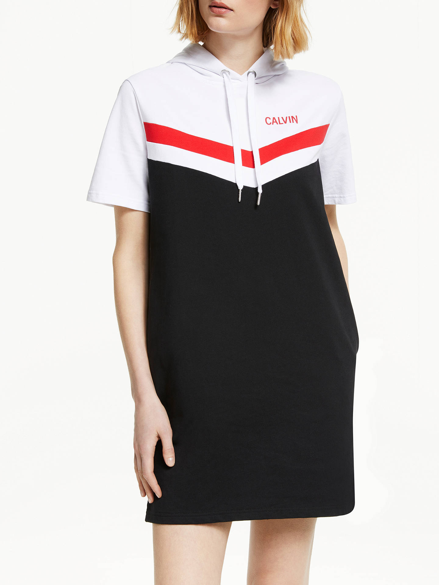 5f15b34b27db Buy Calvin Klein Jeans Cheerleader Colour Block Hooded Dress