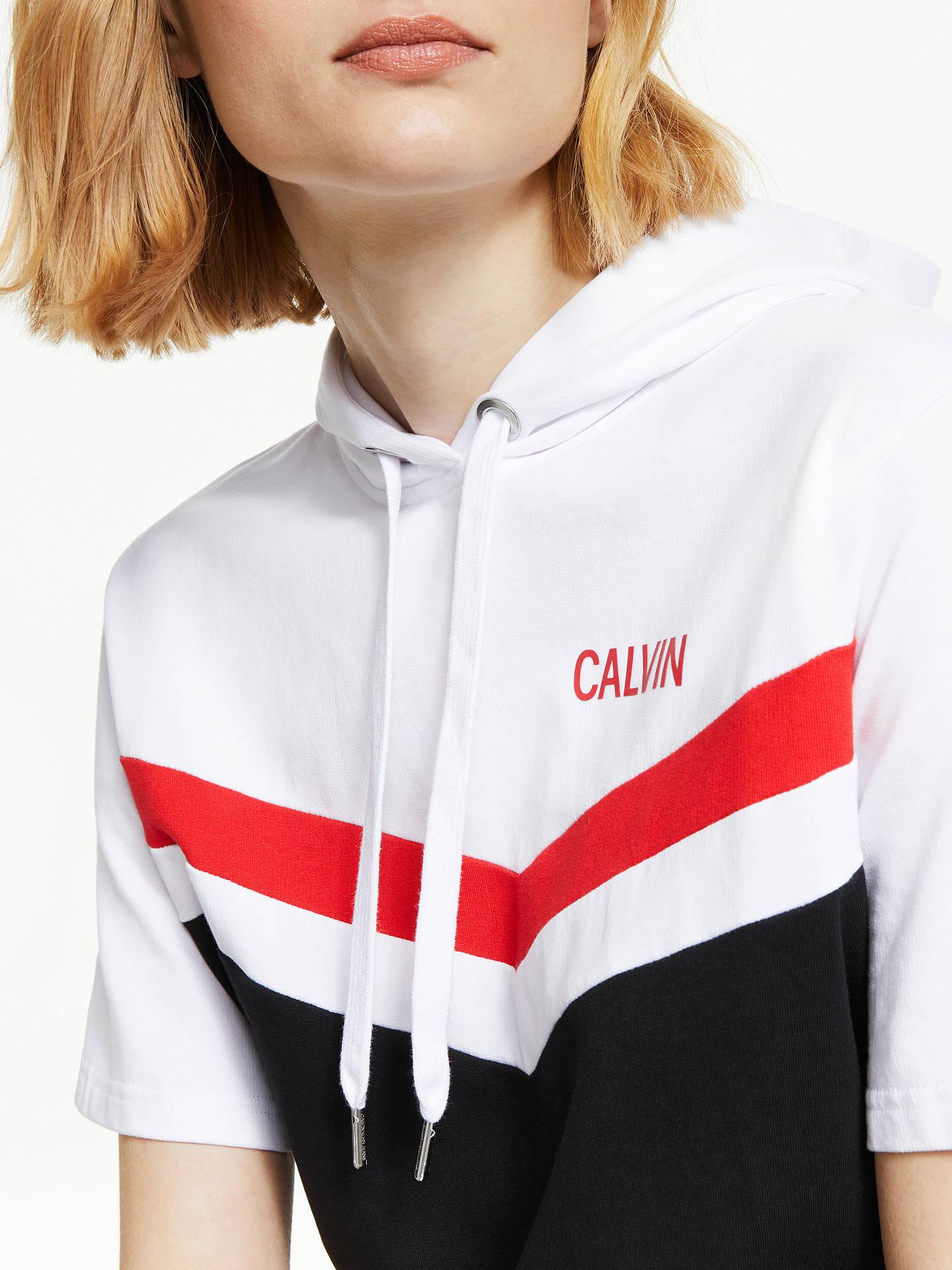 b57b4eb54a49 ... Buy Calvin Klein Jeans Cheerleader Colour Block Hooded Dress