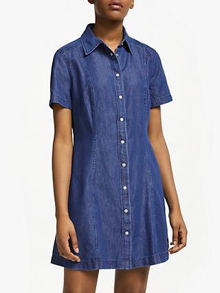 65f3e1bfc09 Calvin Klein Jeans Denim Shirt Dress