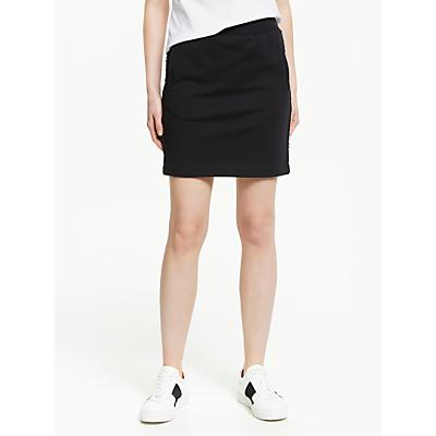 Calvin Klein Jeans Track Side Logo Skirt, CK Black