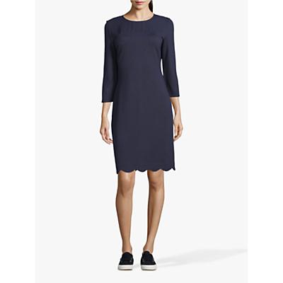 Betty & Co. Jersey Shift Dress, Dark Sapphire