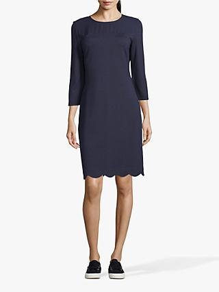 Betty & Co. Jersey Shift Dress, Dark Sapphire