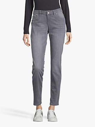 Betty & Co. 5 Pocket Slim Jeans, Grey Denim