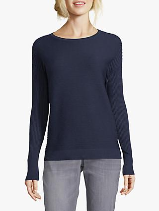 Betty & Co. Multi Texture Ribbed Knit Jumper
