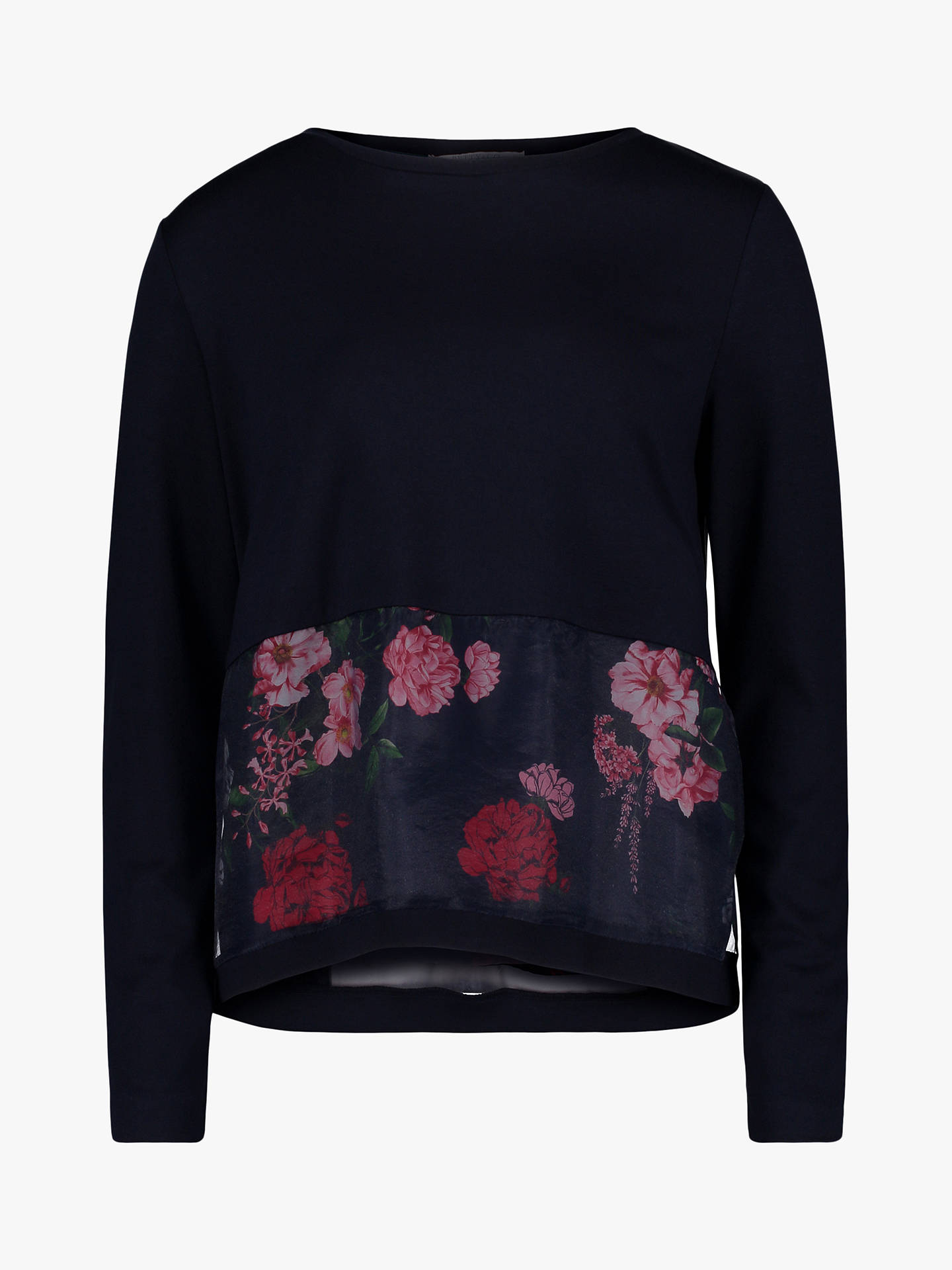 BuyBetty & Co. Layered Floral Top, Dark Sapphire, 20 Online at johnlewis.com