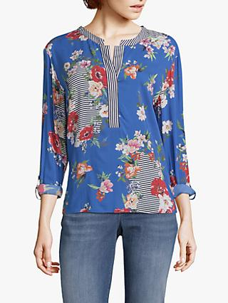 Betty & Co. Floral Print Blouse, Blue