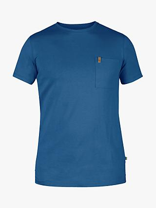 Fjällräven Ovik Short Sleeve Pocket T-Shirt, Blue