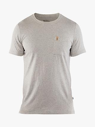 Fjällräven Ovik Short Sleeve Pocket T-Shirt, Grey