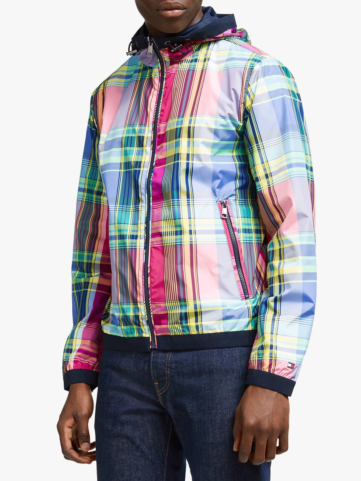 schönen Glanz online Shop neue Season Tommy Hilfiger Reversible Madras Jacket, Multi at John Lewis ...
